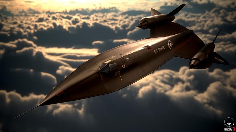 Tuy nhiên, đây lại là tiêm kích hạm thuộc Hải quân Mỹ. Vì vậy, để đối phó với Blackbird là điều không thể với Liên Xô và một số đối thủ của Mỹ khi máy bay này còn hoạt động. Tuy nhiên, khi khoe khả năng của chiếc máy bay này, người Mỹ đã không hề nhắc đến nguyên nhân khiến Blackbird phải 'hưu non'.