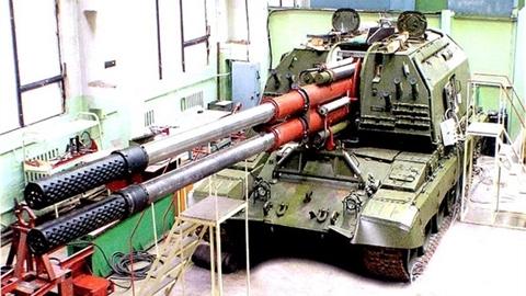 Pháo tự hành 2 nòng siêu tốc bắn được... 30 phát/phút