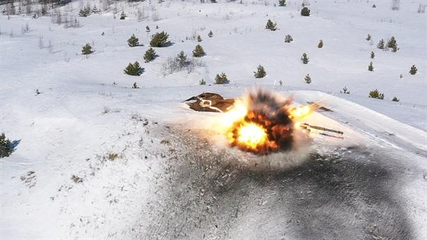 Cơ chế xuyên phá của Vikhr-1 phá hủy mọi cỗ tăng