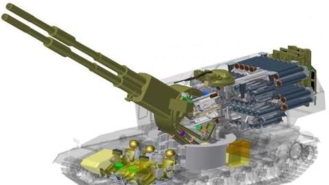 Lộ diện hình ảnh đầu tiên siêu pháo 2 nòng của Nga
