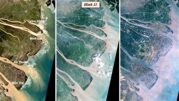 Biến động mực nước tại các cửa sông ven Biển Đông (1988-2020)