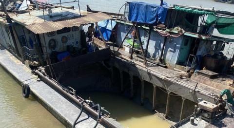 Trùm bảo kê 'cát tặc' trên sông Đuống bị bắt