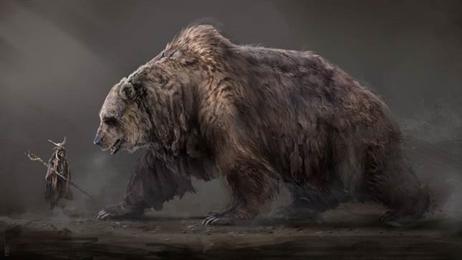 Quái vật lai gấu và linh cẩu bí ẩn ở châu Phi