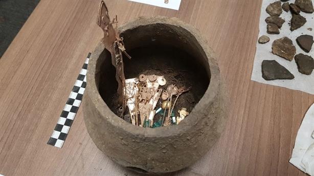 Tìm thấy báu vật nghi của thành phố vàng trong truyền thuyết