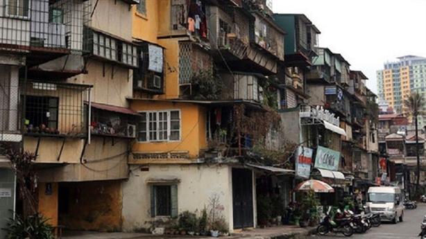 Hà Nội muốn rút ngắn quy trình cải tạo chung cư cũ