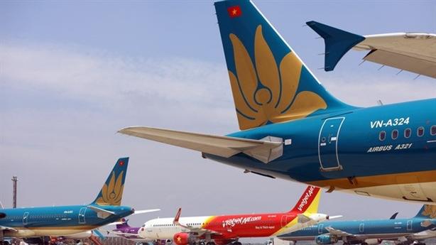 Bốn giai đoạn phục hồi đường bay nội địa