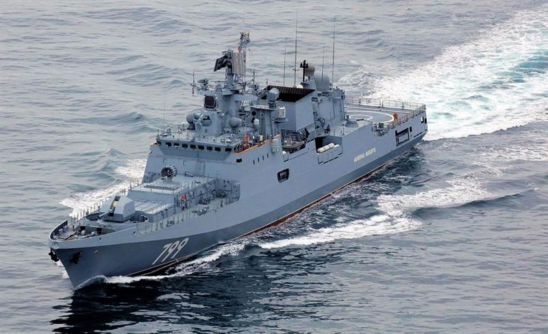 Phía nhà máy đóng tàu Nga chỉ nhận động cơ cho ba chiến hạm và hiện những tàu này đang phục vụ trong Hạm đội Biển Đen: Đô đốc Grigorovich, Đô đốc Essen và Đô đốc Makarov.