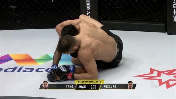 Tân binh MMA ép sân hạ gục đàn anh