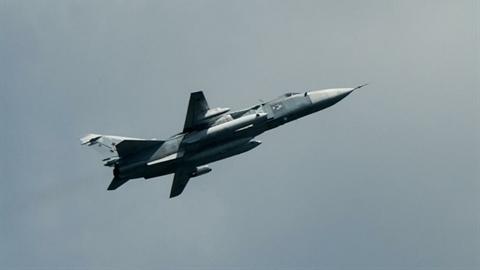 Su-24 Nga xuyên qua khu vực Ukraine bắn tên lửa phòng không?