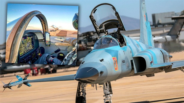 Mỹ lột xác cho F-5N để đóng giả Su-57 Nga