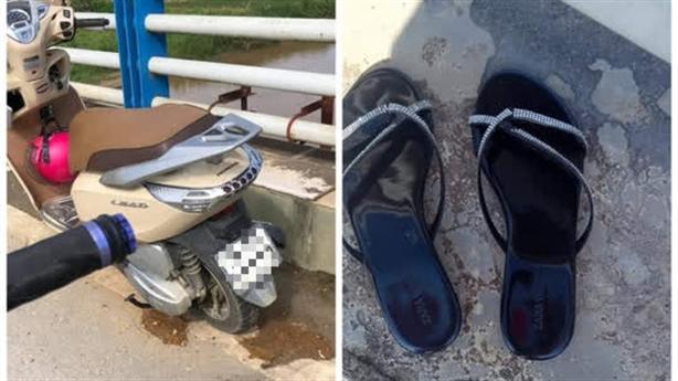 Người phụ nữ để lại xe máy, nghi nhảy cầu tự tử