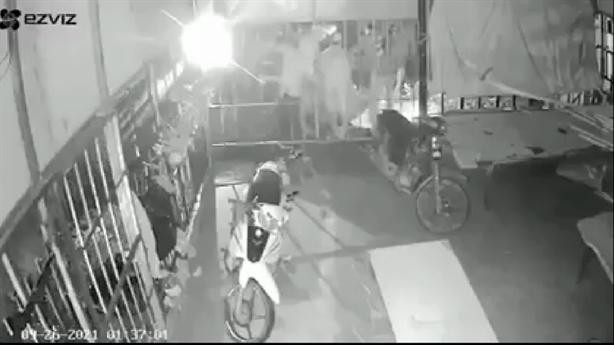 Camera ghi lại cuộc hỗn chiến trong đêm ở Phú Quốc