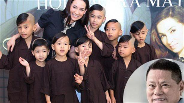 Ông Hoàng Kiều muốn thay Phi Nhung nuôi 23 trẻ mồ côi?