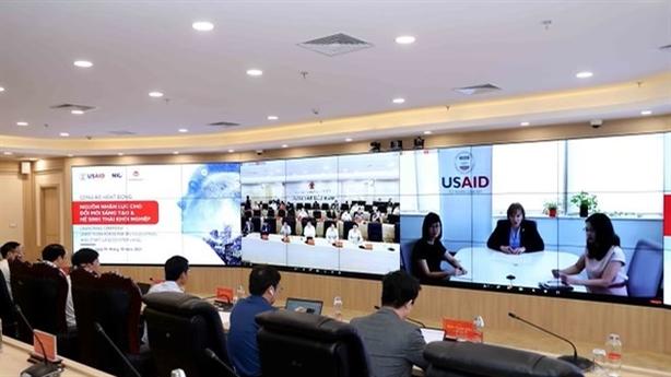 Hoa Kỳ giúp Việt Nam xây dựng nguồn nhân lực 4.0