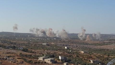 Quân đội Nga, Syria tấn công quy mô lớn vào Idlib