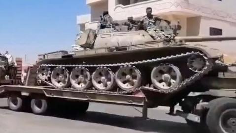SAA triến khai vũ khí hạng nặng đến mặt trận Idlib