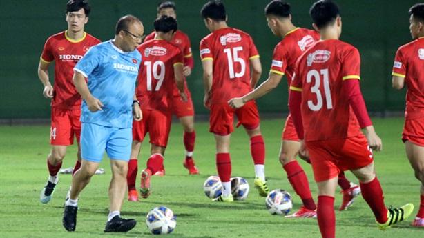 Tuyển Việt Nam sẽ đá đôi công với tuyển Trung Quốc?