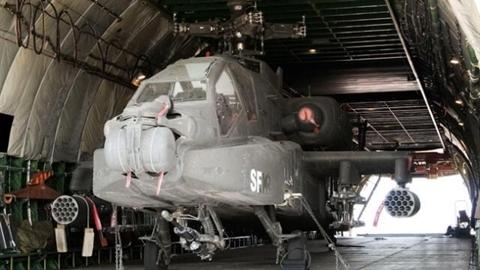 Trực thăng tấn công AH-64 Apache của Mỹ lọt vào tay Nga?