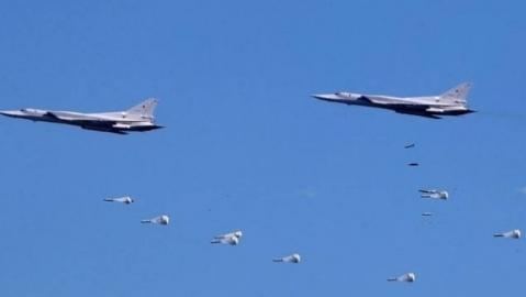 Thổ tuyên bố chiến dịch ở Syria, Nga dội bom dồn dập