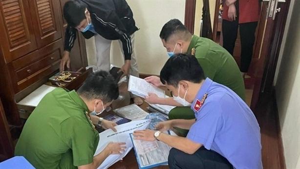 5 nguyên lãnh đạo huyện, thị trấn bị bắt vì tội gì?