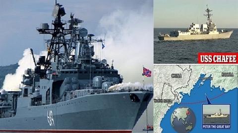 Nga: Nếu Chafee Mỹ không chạy, mặt biển sẽ bị dọn sạch!
