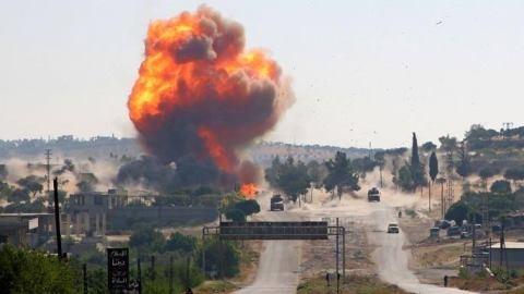 Gần 100 quân Thổ thương vong ở Syria