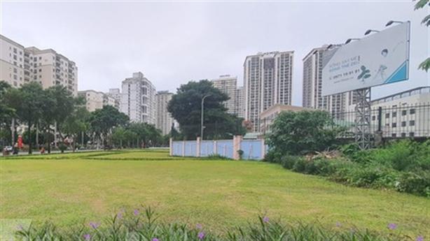Hà Nội thêm chung cư, liền kề vào ô đất công cộng