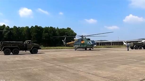 Phòng không - Không quân việt Nam phối hợp diễn tập