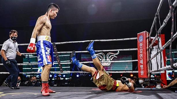 'Hắc ưng' Việt hạ đối thủ Hàn giành đai WBO thế giới