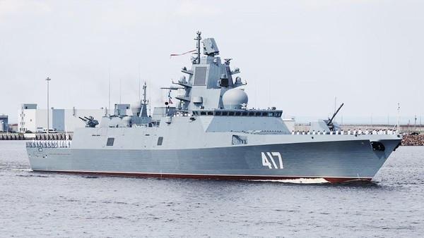 Hải quân Nga giải quyết xong vấn đề với khinh hạm 22350