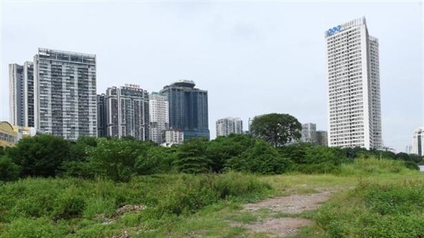 Hà Nội điều chỉnh 'nâng tầng' cho 2 ô đất bỏ hoang