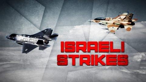 Israel lại tấn công vào Syria