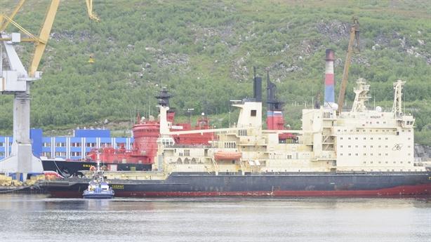 Tàu phá băng hạt nhân chạy đường biển Bắc